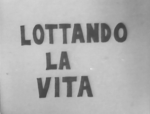 Lottando la vita screening and discussion